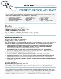 Medical Assistant Resumes And Cover Letters Fascinating Medical Assistant Resumes Awesome Example Resumes Elegant Cover