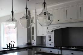 Contemporary Glass Pendant Lights For Kitchen With Hanging Lights In  Island