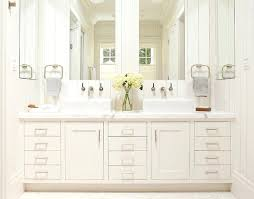 traditional bathroom vanity designs. Master Bathroom Vanities White Vanity With Two Sinks And  Large Mirrors Traditional Designs