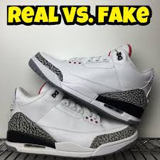 jordan 0v0. fake vs real air jordan 3 retro \u002788 0v0