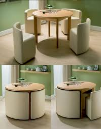 space saving furniture table. Round Dining Table U0026 Chairs For Small Homes Space Saving Furniture