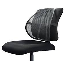 office chair back support. Unique Support Easy Posture Lumbar Back Support Mesh Black Mesh 1PC Inside Office Chair Amazoncom