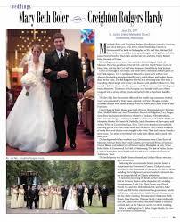 Marriage Announcement: Mary Beth Boler/ Creighton Hardy - Newspapers.com
