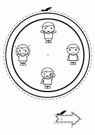 Kleurplaat Emotie Klok Jongens Afb 30535