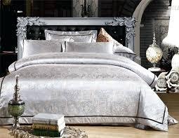 satin duvet red silver gold and cotton bedding set satin duvet comforter quilt cover flat sheet