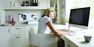 working for home office. Senior Medical Writers Rake In Six Figures, On Average. Flickr / Betta  Living Working For Home Office