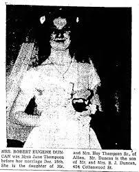 myra duncan wedding - Newspapers.com