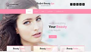 impressively awe inspiring and sophisticated perfect beauty spa is one of the best makeup artist wordpress themes with seo strategy responsive web design