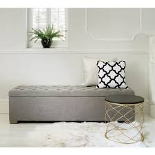 French Ottoman buttons grey ottoman french and gallery also bedroom ottomans 1486 by xevi.us