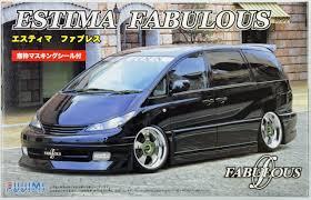 Fujimi ID-22 Toyota Estima Fabulous 1/24 Scale Kit 039053 - Plaza ...