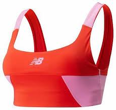 New Balance Women's <b>Achiever Blocked Crop Top</b> Red Size L | eBay