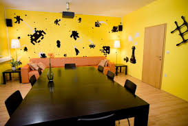 Yellow Office Interior Design Nice Design Of Office Space With Yellow Color