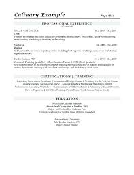Resume Sample In Pdf Culinary Sous Chef Resume Example Resume