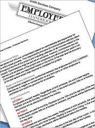 handbook template employee handbook template 29 95
