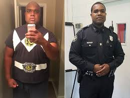 Why To Become A Police Officer Georgia Man Lost 100 Lbs To Become A Police Officer People Com