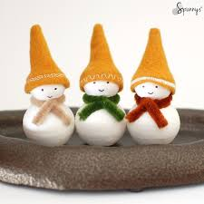 Small Picture DIY Christmas decorations homemade snowman ornaments SPUNNYS