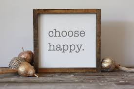 choose happy wood sign framed modern farmhouse wall decor simple art gifts for her gallery wall happy wall art 12x12