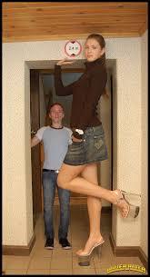 Tall woman short man porn