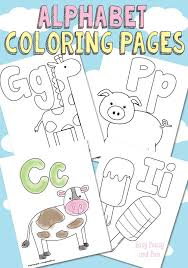 Search through 51937 colorings, dot to dots, tutorials and silhouettes. Free Printable Alphabet Coloring Pages Easy Peasy And Fun