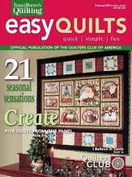 655 best QUILTS Books & Magazines images on Pinterest | Board ... & Fons & Porter's Easy Quilts, Winter 2009 Issue Adamdwight.com