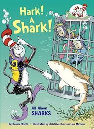 order hark a shark all about sharks cat in the hat s learning  a shark all about sharks cat in the hat s learning library