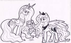 25 My Little Pony Friendship Is Magic Coloring Pages Collections