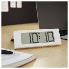 white led wall clock ikea vikis alarm clock white ikea wish list