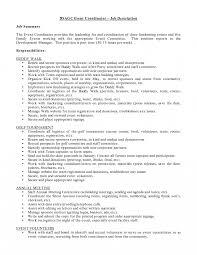 Event Coordinator Job Description Event Planner Job Description Template Coordinator Sample 24 Jd 5