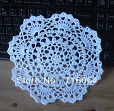 beautiful free crochet round tablecloth patterns image collection