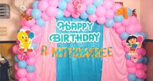 balloons decoration for birthday simple balloon decoration