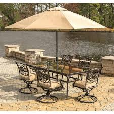 outdoor dining set with umbrella 7 piece dining set with cushions and table umbrella 9 piece outdoor dining set with umbrella
