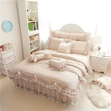 high thread count duvet cover. Plain Count FullQueenKing Size Lace Princess Korea Style Bedding Set 60S Cotton High  Thread In High Thread Count Duvet Cover
