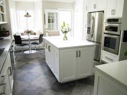 Interesting White Kitchen Floor Ideas with Kitchen Flooring Ideas