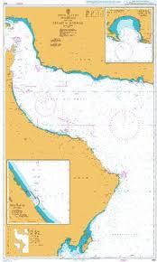British Admiralty Charts British Admiralty Nautical Chart 2851 Arabian Sea And Gulf Of Oman Masirah To The Strait Of Hormuz