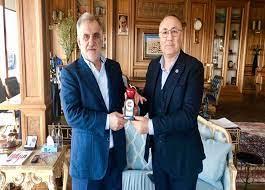 Albayrak Holding Yönetim Kurulu Başkanı Sayın Ahmet Albayrak Bey'i Ziyaret  – As Holding