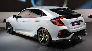 honda civic hatchback 2016. Plain Hatchback 2017 Honda Civic Hatchback Prototype First Look  2016 Geneva Motor Show  YouTube In