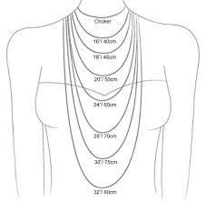 Size Necklace Chart Size Chart