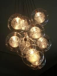 unique modern glass chandeliers of gorgeous contemporary chandelier kadur custom blown