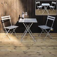 white iron garden furniture. 3PC FOLDING BISTRO SETS METAL GARDEN FURNITURE OUTDOOR PATIO 2 CHAIRS \u0026 TABLE White Iron Garden Furniture