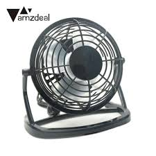 well turned usb desk fan design portable mini home office desktop cooling cooler 4 blades operation