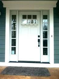 fiberglass exterior doors craftsman entry door with sidelights front moulding kit collection fiberglass doors one fiberglass