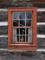 Cabin Windows panoramio photo of log cabin window 3190 by uwakikaiketsu.us