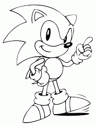 Small Picture Sonic The Hedgehog Coloring Pages To Print Coolest Coloring Sonic