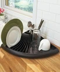 Kitchen: Wooden Kitchen Drying Rack Ideas - Drying Organizer