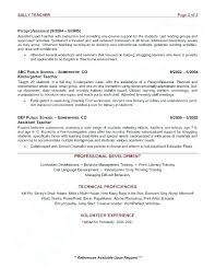 Daycare Resume Objective Ideas Of Daycare Teacher Resume Charming
