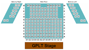 Grandel Theatre Seating Chart Theatre Map Grande Prairie Live Theatre