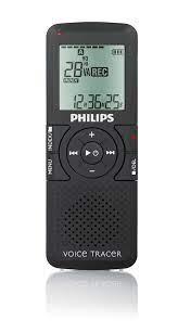 Voice Tracer dijital ses kaydedici LFH0622/00