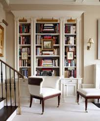 bookcase lighting ideas. fantastic white builtin bookcase library lights sconces classic lighting ideas s