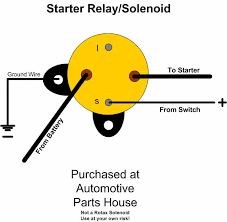 solinoid relay wire diagram wiring a starter relay solenoid light sport aircraft lsa starter relay solenoid for rotax 503 wiring