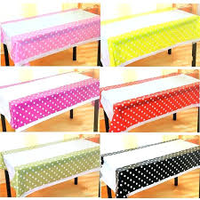 plastic table coverings whole polka dot plastic table cloth kids birthday party decoration baby shower